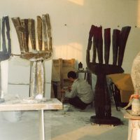 Preparing waxes, Beijing, China 2002