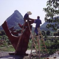 3rd International Sculpture Symposium, Yuzi Paradise, Guilin, China 1998