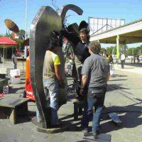 Chaco International Sculpture Biennale, Resistencia, Argentina 2006
