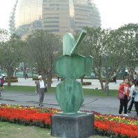 'Celestial Messenger' - 3rd West Lake International Sculpture Exhibition and Symposium, Hangzhou, China (New City Development) 2008