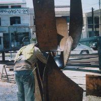 1st International Symposium of Monumental Steel Sculpture, Tijuana, Mexico 2004