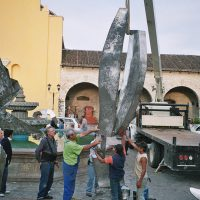 2nd International Symposium of Stainless Steel Sculpture, Comitan, Chiapas, Mexico 2006