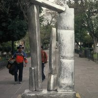 'Monumental Stainless Steel Sculpture', San Luis Potosi Arts Festival, Mexico 2004