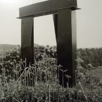 'Sculpture in a Country Park', Margam, Port Talbot, South Wales 1983
