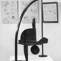 'Archangel' steel122cm high 1970. Collection: Northern Arts Association (location unknown)