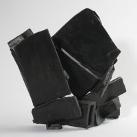 Black Bronze III 19 x 20 x 10cm 1981.Collection: The University of Leeds (Stanley and Audrey Burton Gallery)